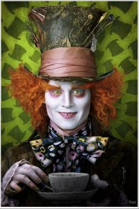 alice in wonderland 2010 johnny depp as the mad hatter