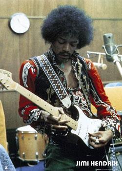 Jimmy Hendrix tuvo una exlente aparicion en Woodstock.