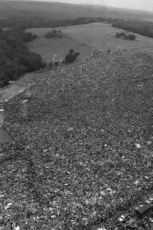 Para ese evento se esperaba la asistencia de 100mil personas, pero llegaron al evento mas de 500mil personas.