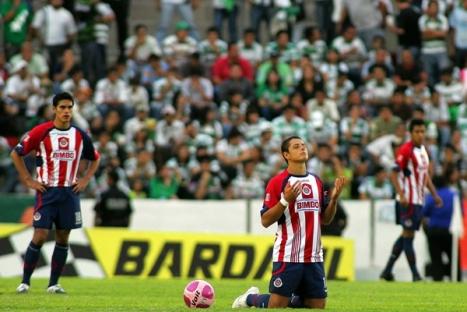 Chivas de Gualajara no pudo contra Santos