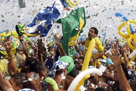 La alegria de los cariocas es sumamente emocionante por los olimpicos.